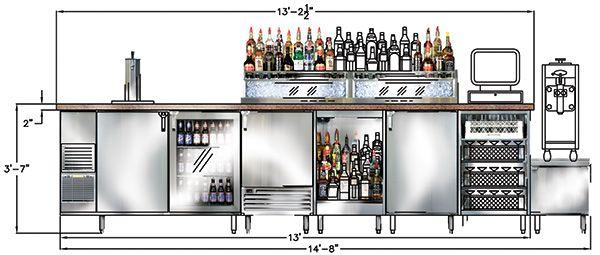 Glastender Design And Cad Files Ianni1959 Pinterest Cad File Bar And Diner Kitchen
