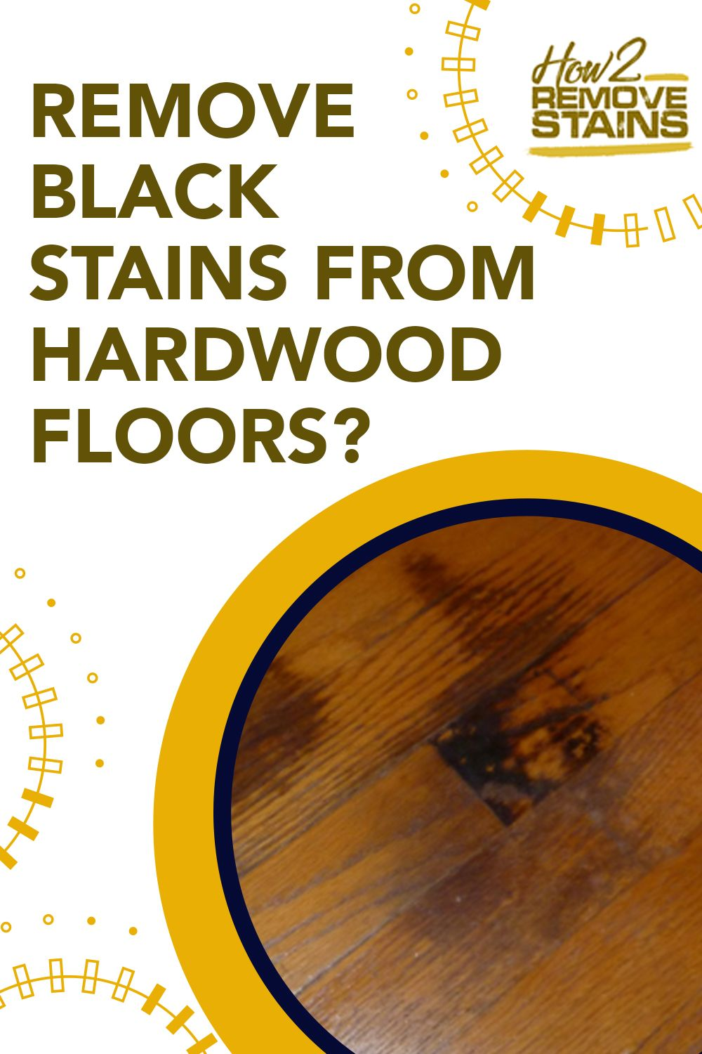 How to remove black stains from hardwood floors in 2020