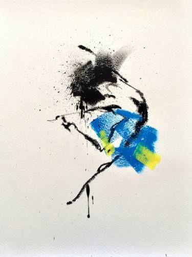"""Saatchi Art Artist Mario Henrique; Painting, """"Dancer"""" #art"""