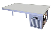 Refrigerated Weels Static Cooling Cold Plate Gn Self