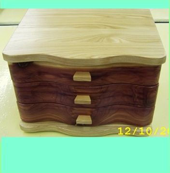 Wood Jewelry Box Plans Easy DIY Woodworking Projects Wood Projects