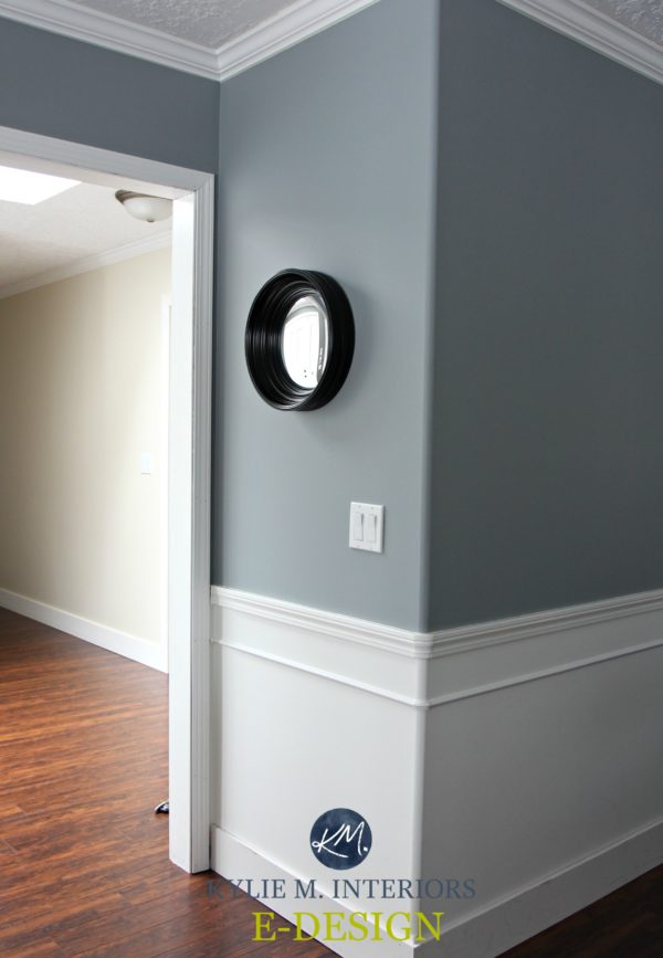 The Best Way To Paint A Wall With A Chair Rail Dado Rail White Wainscoting Room Wall Colors Interior Wall Colors