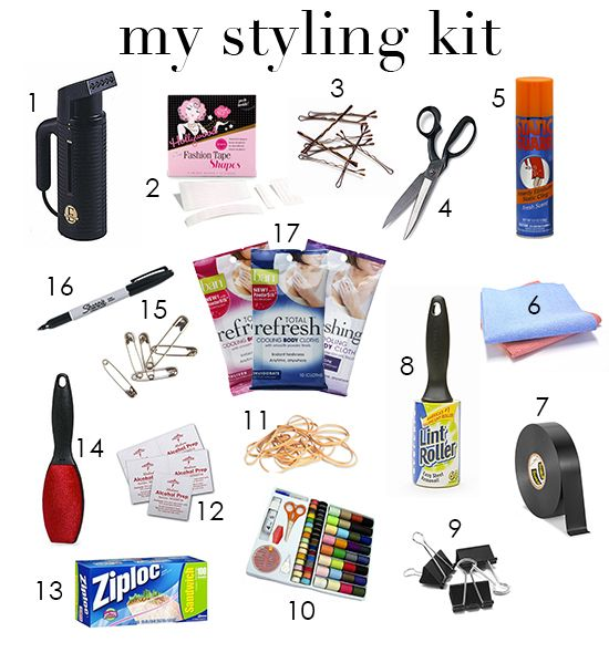 Msp Shares What S In My Bag What S In My Styling Kit Stylist Kit Style Kit Personal Fashion Stylist