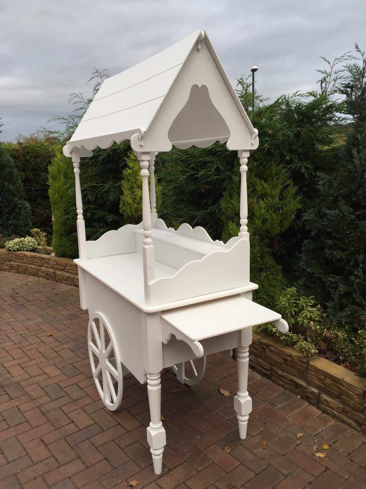 Wedding candy cart sweet cart for sale market cart stall trolley