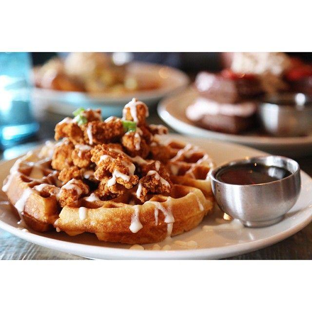 Saint Anejo Nashville Hot Chicken And Waffles Horchata French