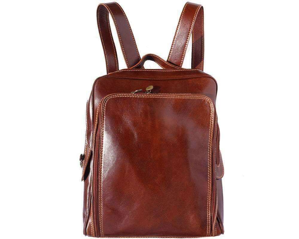 Shoulder Bag Italian Genuine Leather Hand made in Italy Florence 3013
