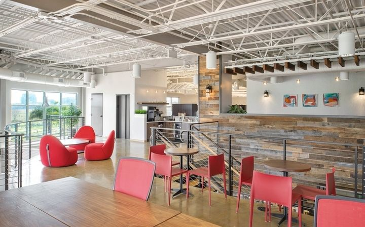 McKibbon Hospitality Office By HOK Tampa Florida Retail Design Blog