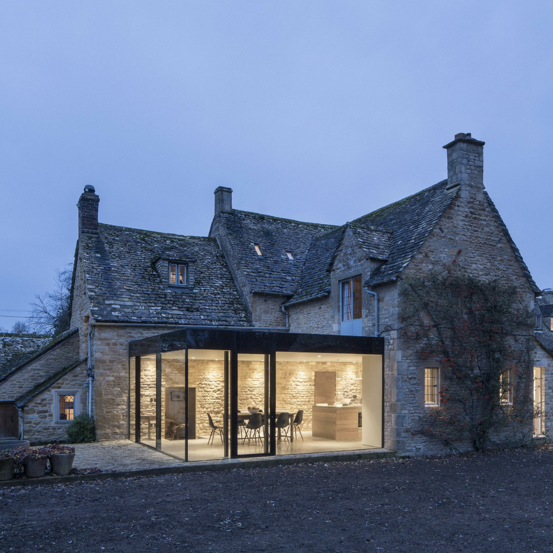 Yew Tree Cottage Featured In The Contemporist Article 14 Examples