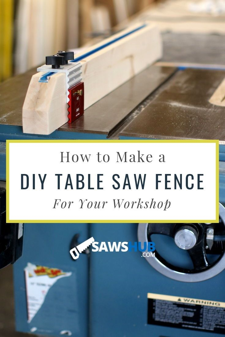 How to Make a Table Saw Fence Discover how to make a DIY table saw fence rather than buying an expensive option for your woodworking projects