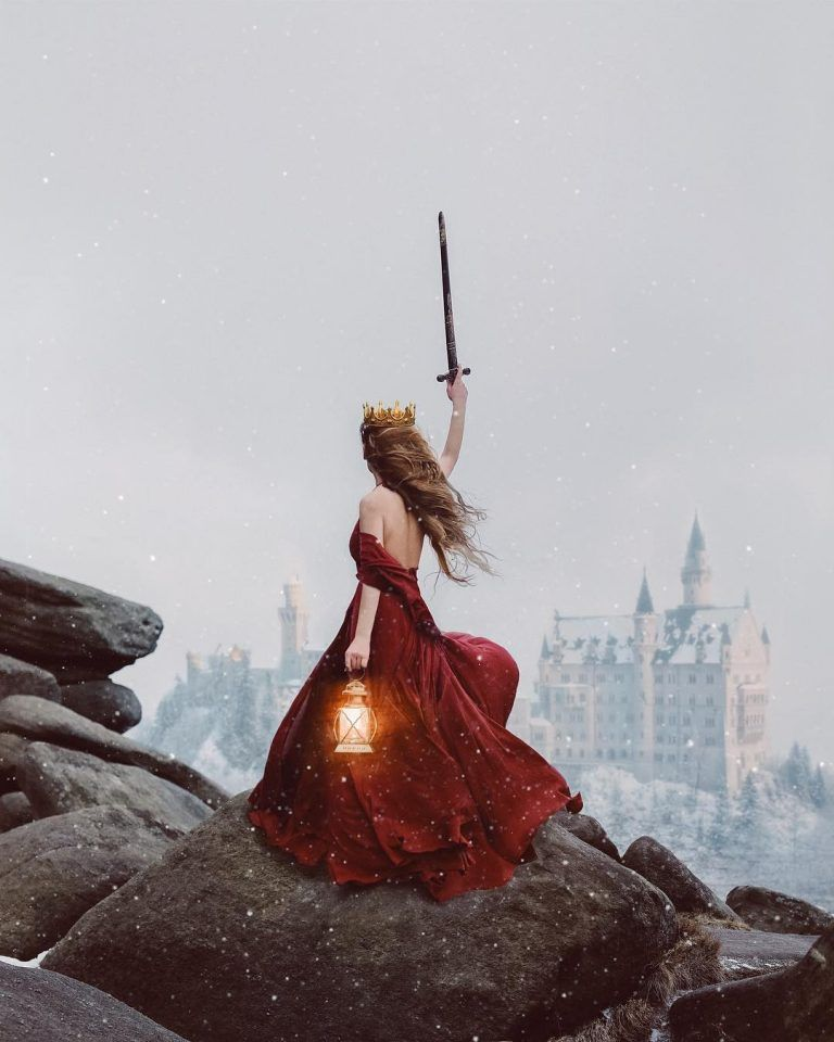 Rosie Hardy Escapes Into Fantasy Worlds Through Her Self Portraits