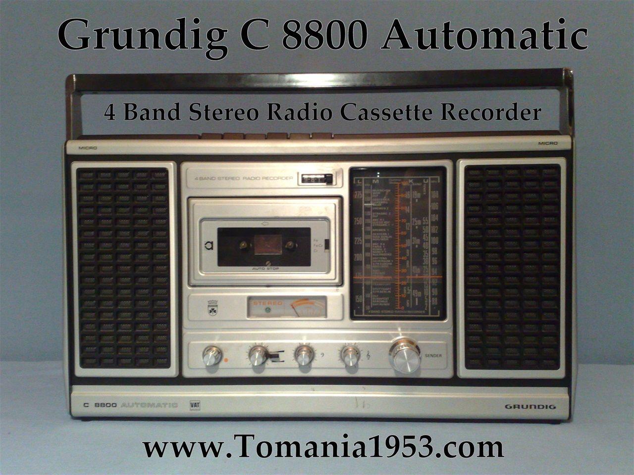 Grundig Radioes - www.tomania1953.com
