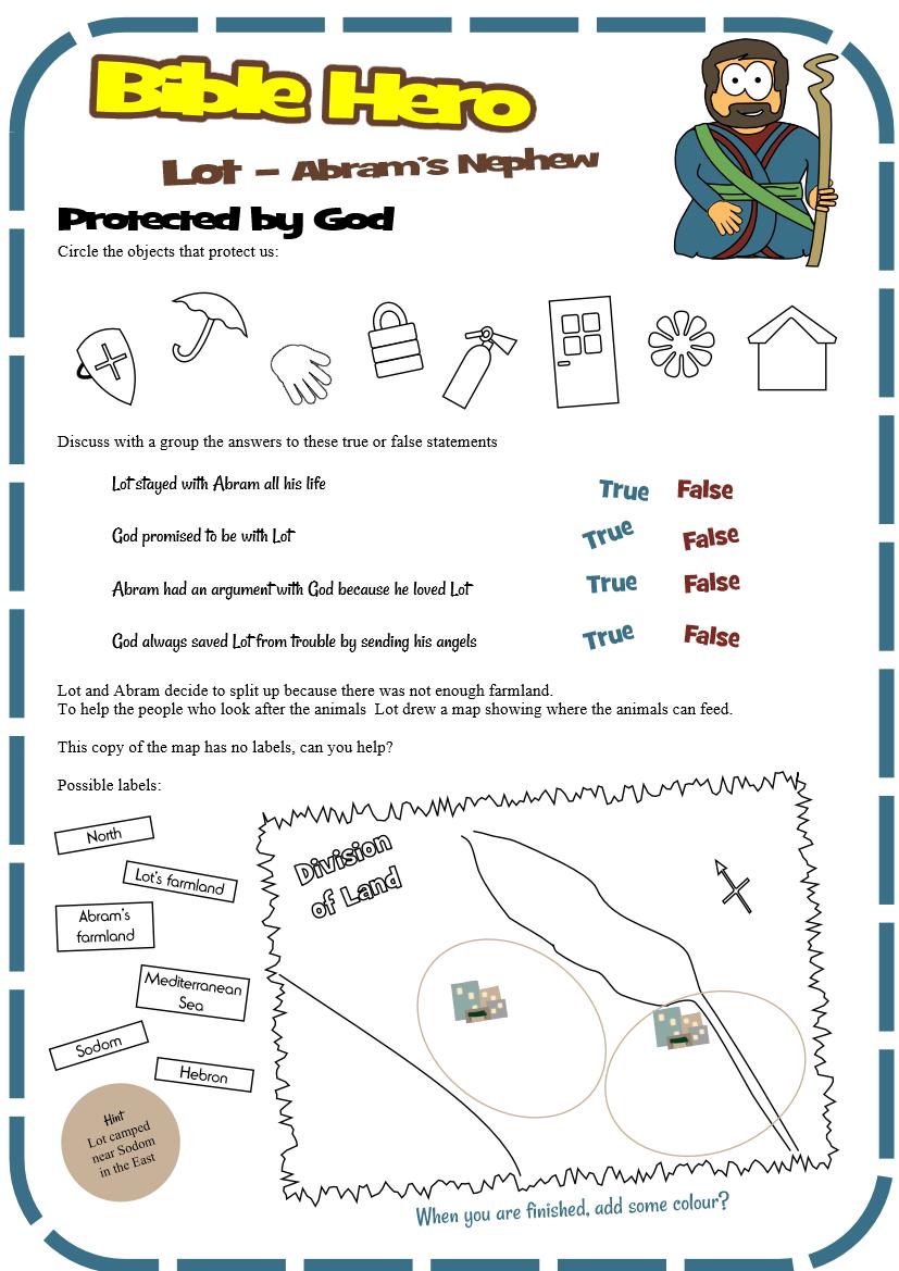 Lot (Genesis 13)   Genesis   Bible for kids, Bible