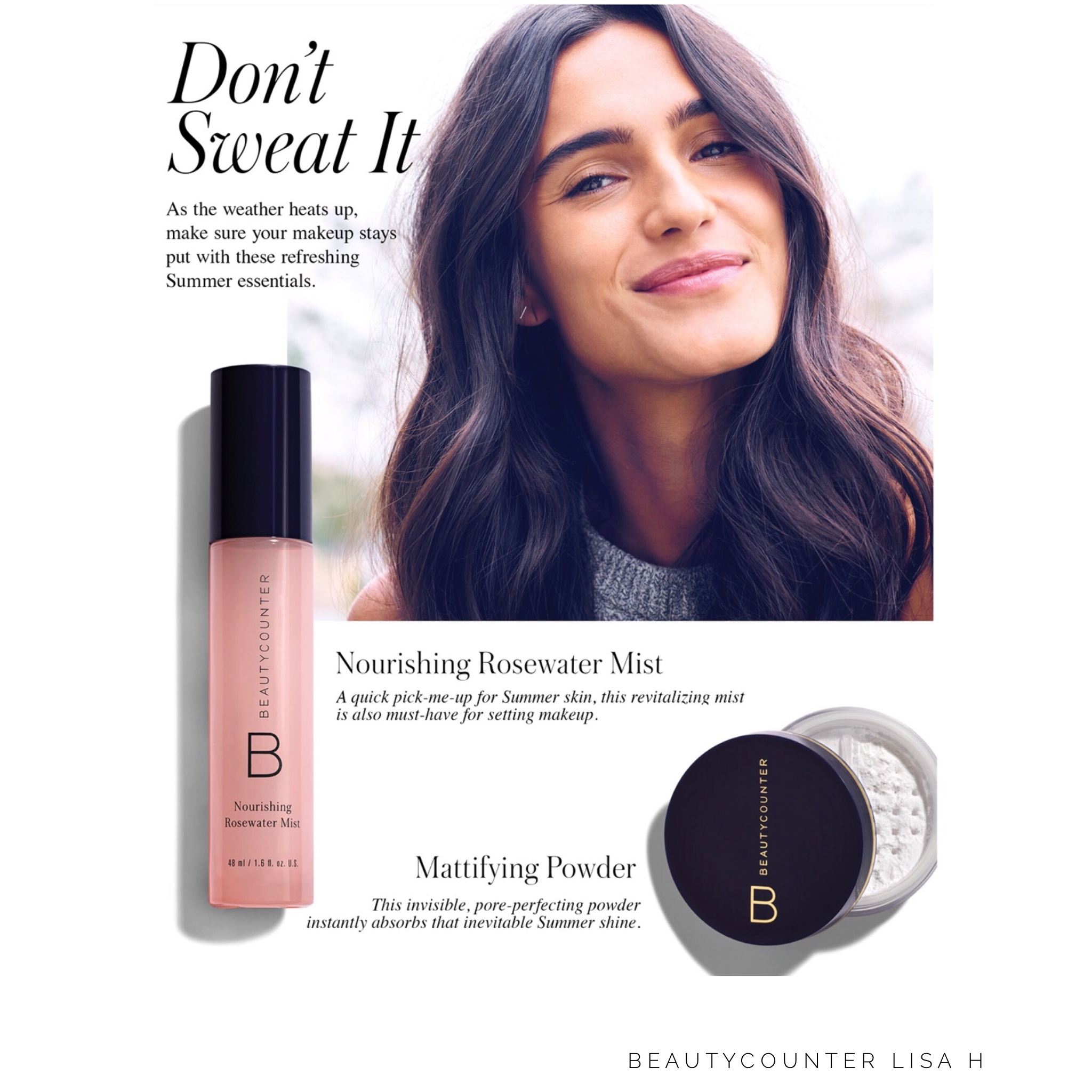 Sparkle don't shine this summer! Pop our Beautycounter