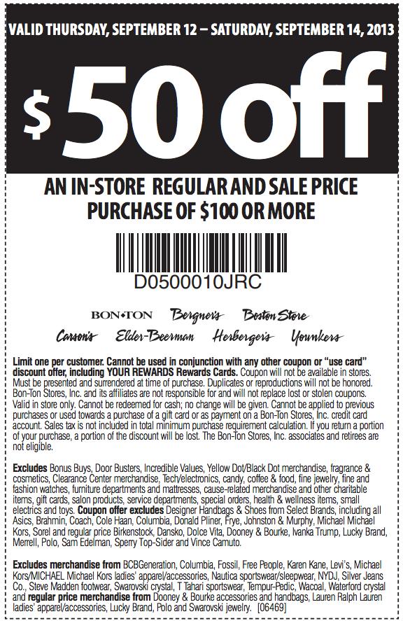 Herbergers 50 Off 100 Printable Coupon Printable Coupons Free Printable Coupons Coupons