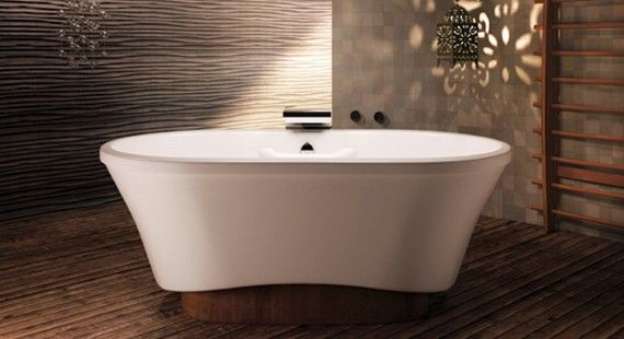 Bain Ultra Amma Oval Freestanding Tub Available At