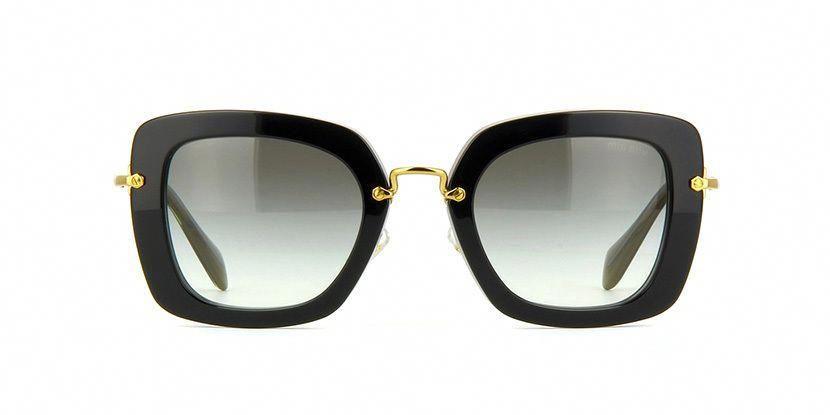 f43a0706feed Miu Miu MU 53OV Eyeglasses Black or gray MiuMiu Miu Miu Miu