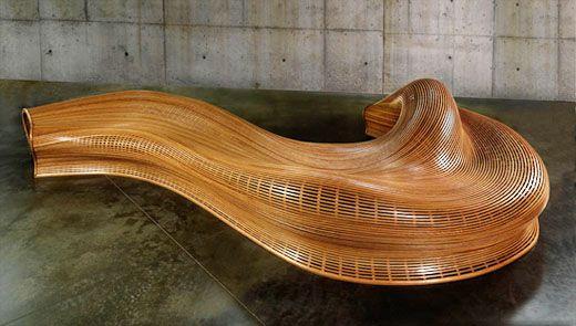 steam bent furniture by matthias pliessnig furniture bench rh pinterest com