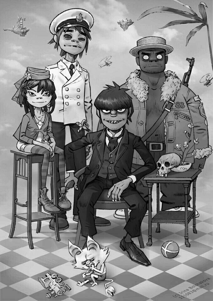 Gorillaz maybe its just me but murdoc is the dad who for Domon remembrance