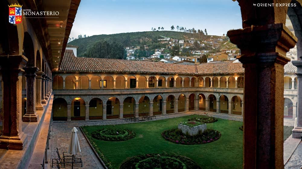 Only A Short Plane Ride From Gye Hotel Monasterio Cuzco Peru One Of The Best Luxury Hotels In Cusco