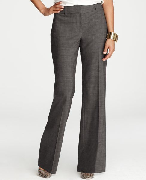 Tall Curvy End On End Trousers In Stretch Virgin Wool Pantalones De Vestir Mujer Pantalones De Vestir Ropa