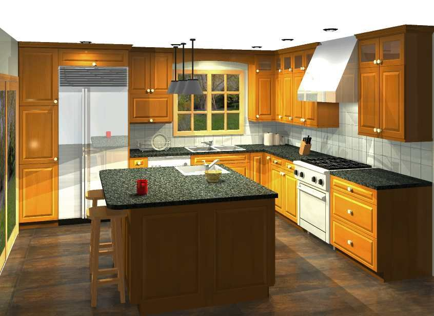 Create your own online design your free kitchen design for Design your own kitchen
