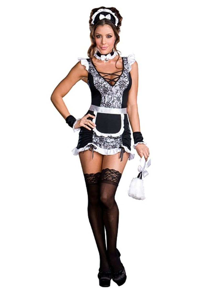 Has analogue? sexy french maid uniform
