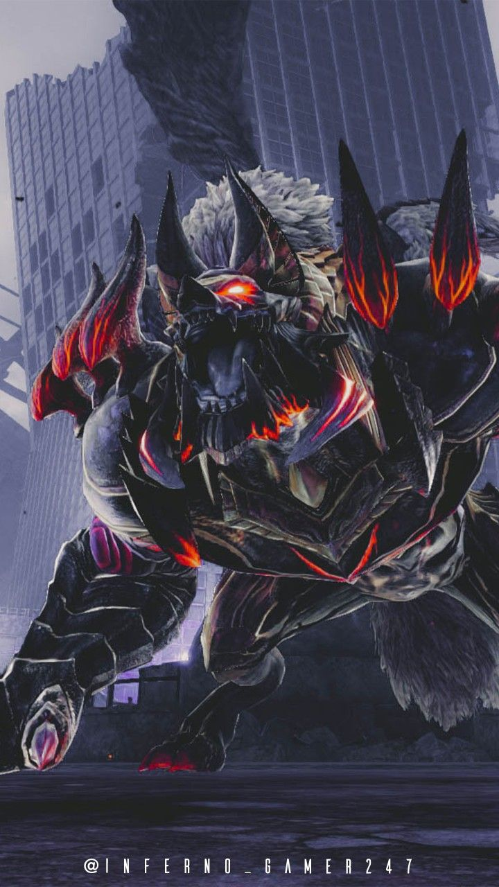 "God Eater 3 Ash Aragami ""Anubis"" Monster art, Anime, Art"