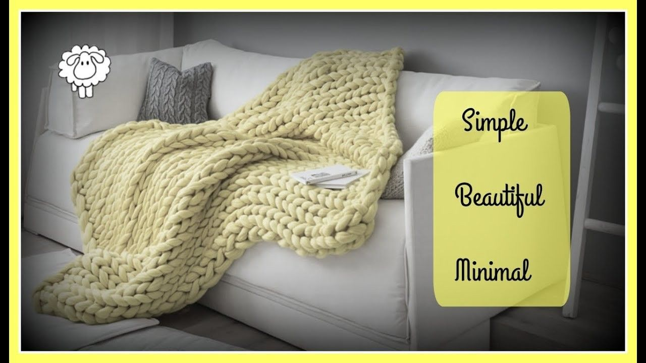 how to make a blanket with yarn step by step