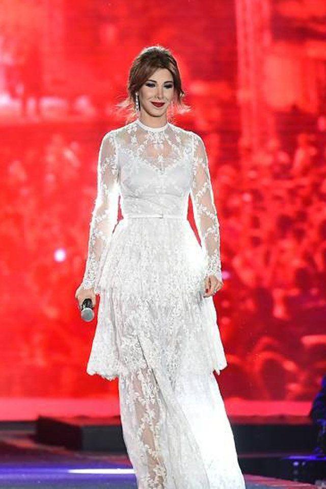 5fc4ed42a26 فساتين نانسي عجرم 2017 Nancy Ajram Dresses