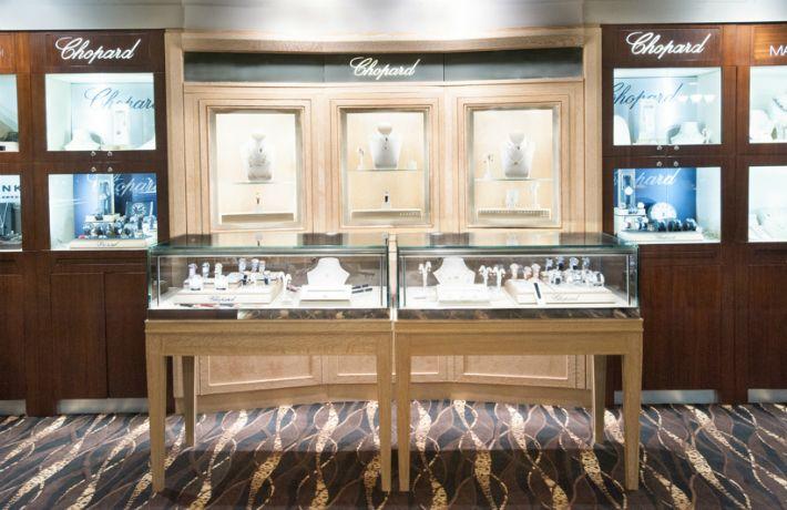#Chopard Area Of The Store. Manfredi Jewels, Greenwich, CT.