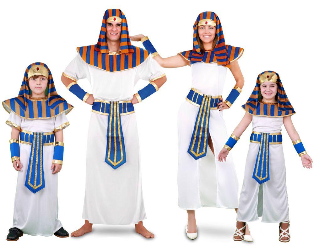 Familia de faraones disfraces carnaval - Difraces para carnaval ...