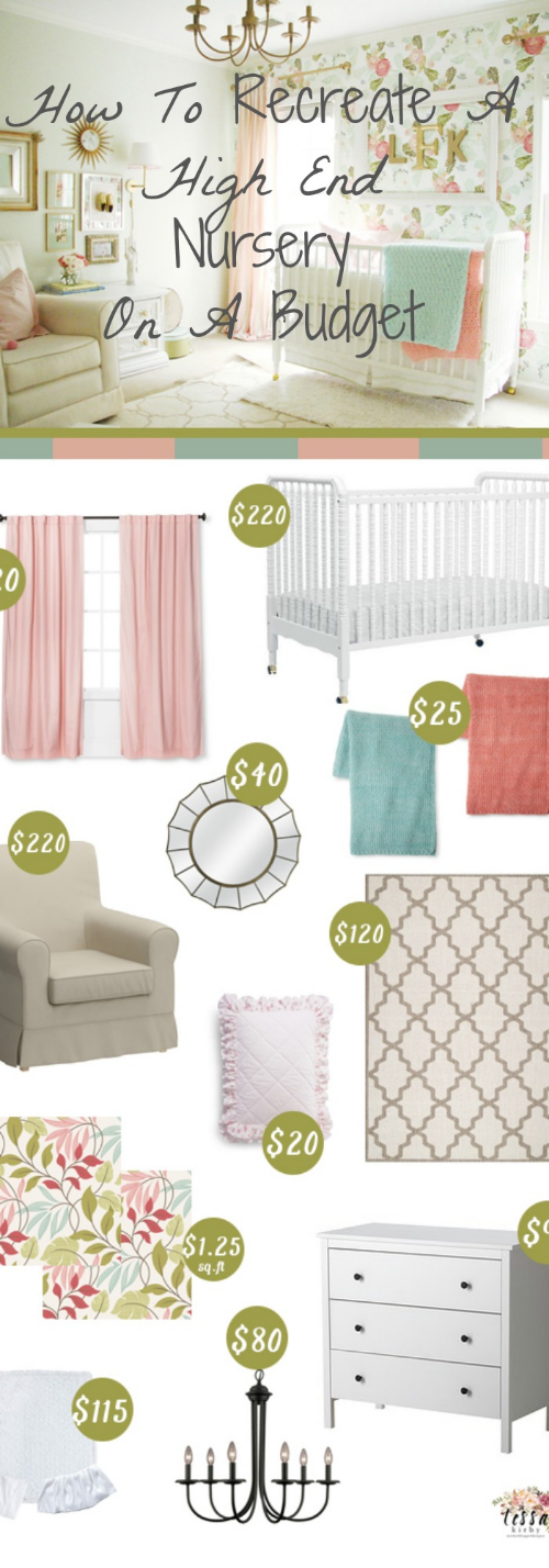 How To Recreate A High End Nursery On A Budget Baby