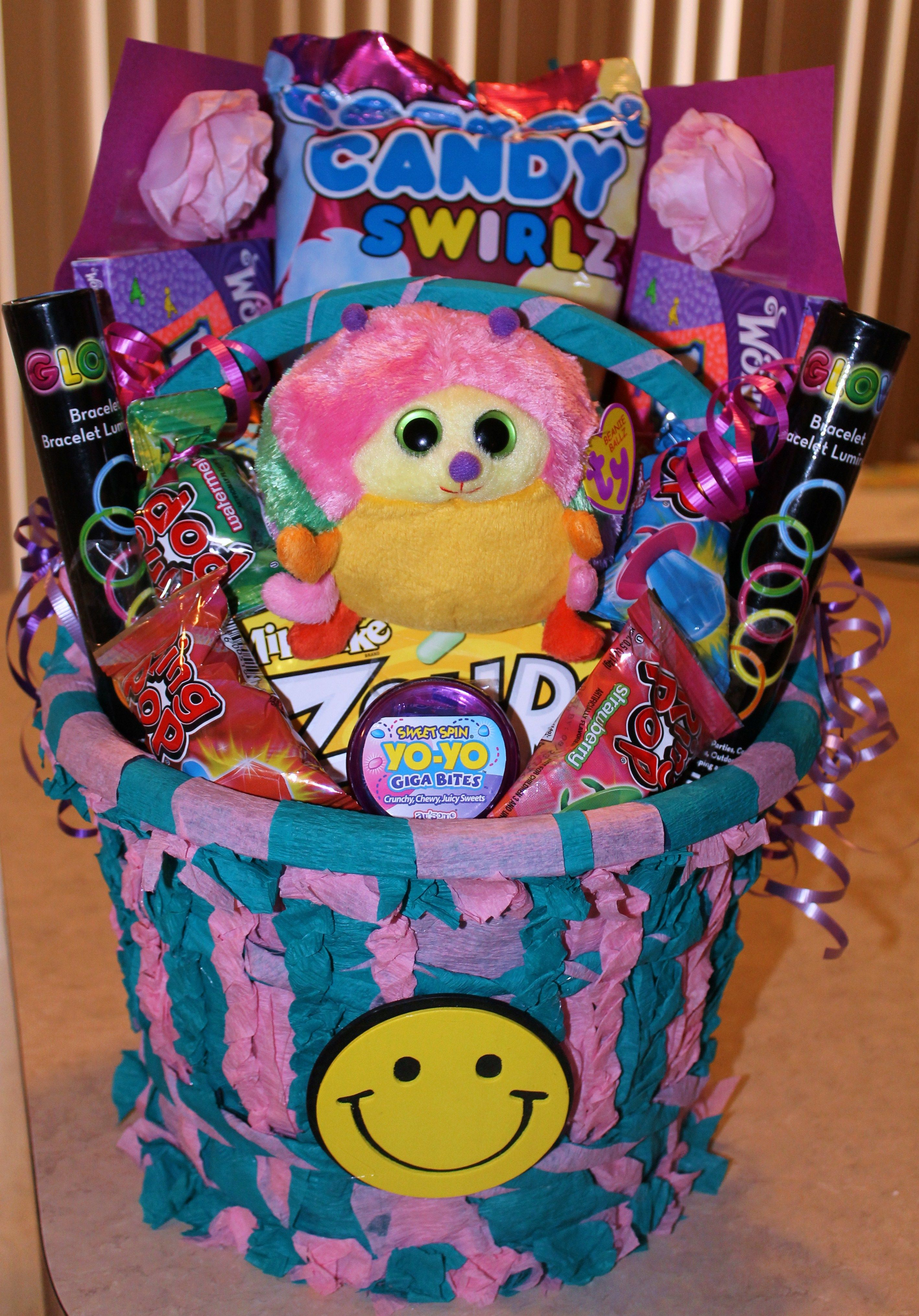 9 year old girls Birthday Basket