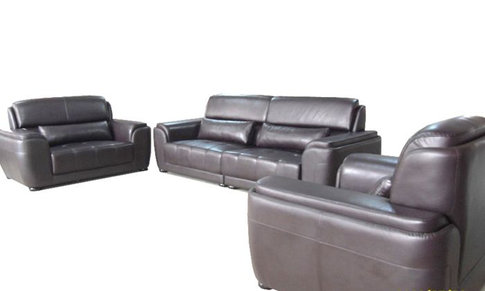 Free Shipping Living Room Sets New Design Classic 123 Large Size Modern Leather Sofa Set High Back Chair Love Seat And Sofa Leather Sofa Set Modern Leather Sofa Sofa Set
