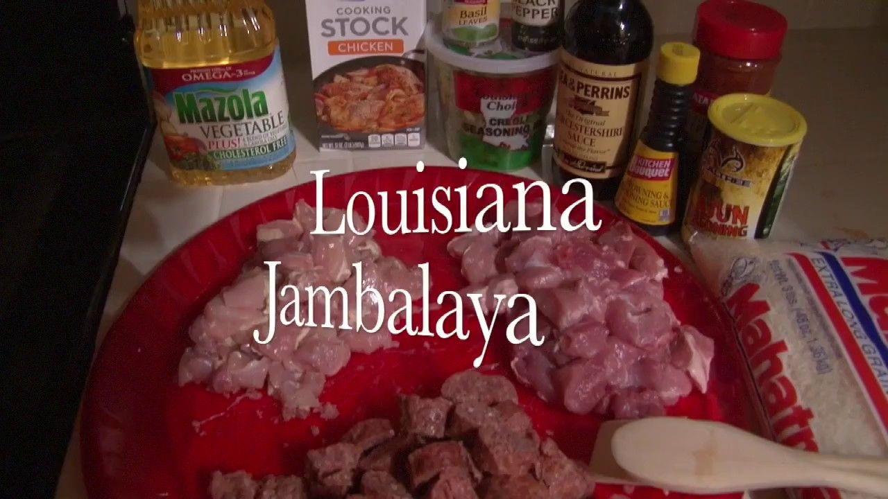 Louisiana Jambalaya How to cook a Louisiana Jambalaya.