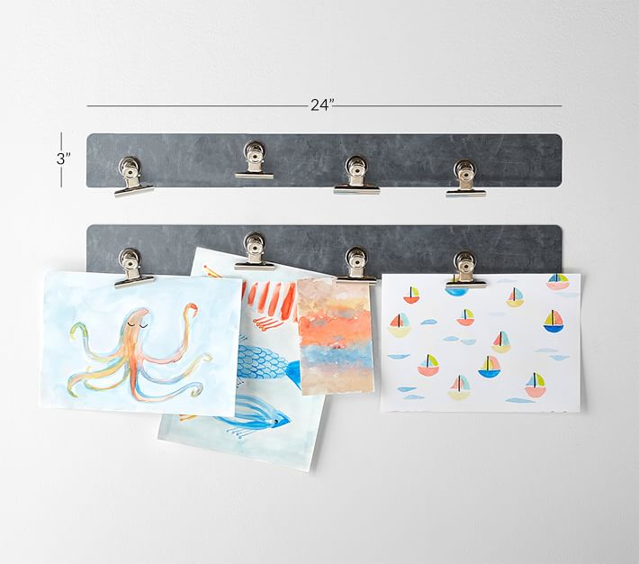 Photo of Magnetic Strip with Clips