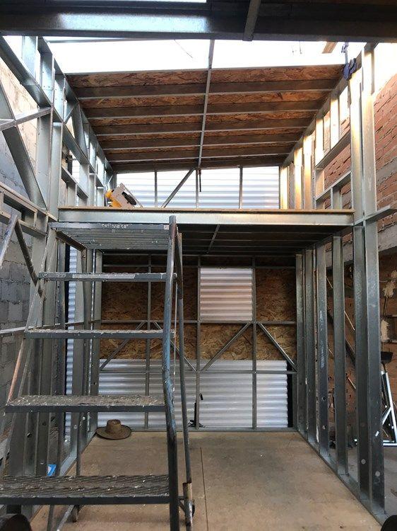 Lightweight SteelFrame Tiny House Steel framing, Casas