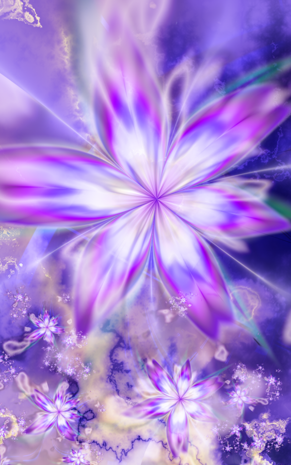 Ultra Fractal 5.01 Old flowers I had to post, whose colour, shades and composition are meant to recall the famous drowning scene of the princess Ophelia, in Shakespeare's Hamlet. See also my collec...