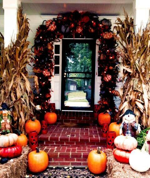 Halloween porch Terrazas Pinterest Halloween porch, Halloween