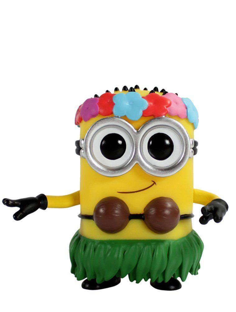 Amazon.com: Funko POP Movies: Despicable Me 2 - Hula Minion Action Figure: Funko Pop Movies: Toys & Games