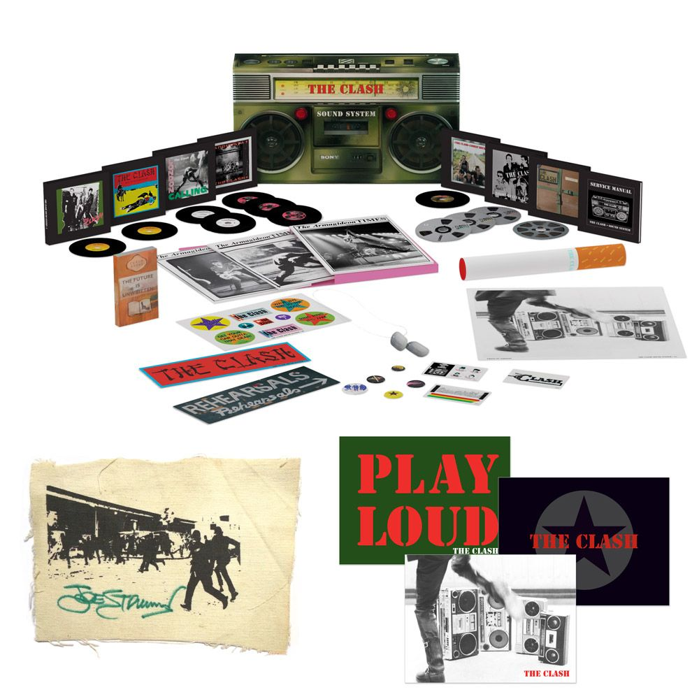 Boom Box Set And More From The Clash On September 9th The Clash Boxset Boombox