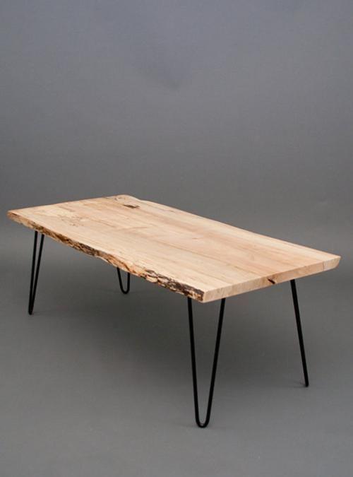 tavolo da cucina piano in legno gambe in ferro 140x75x75 italian ...