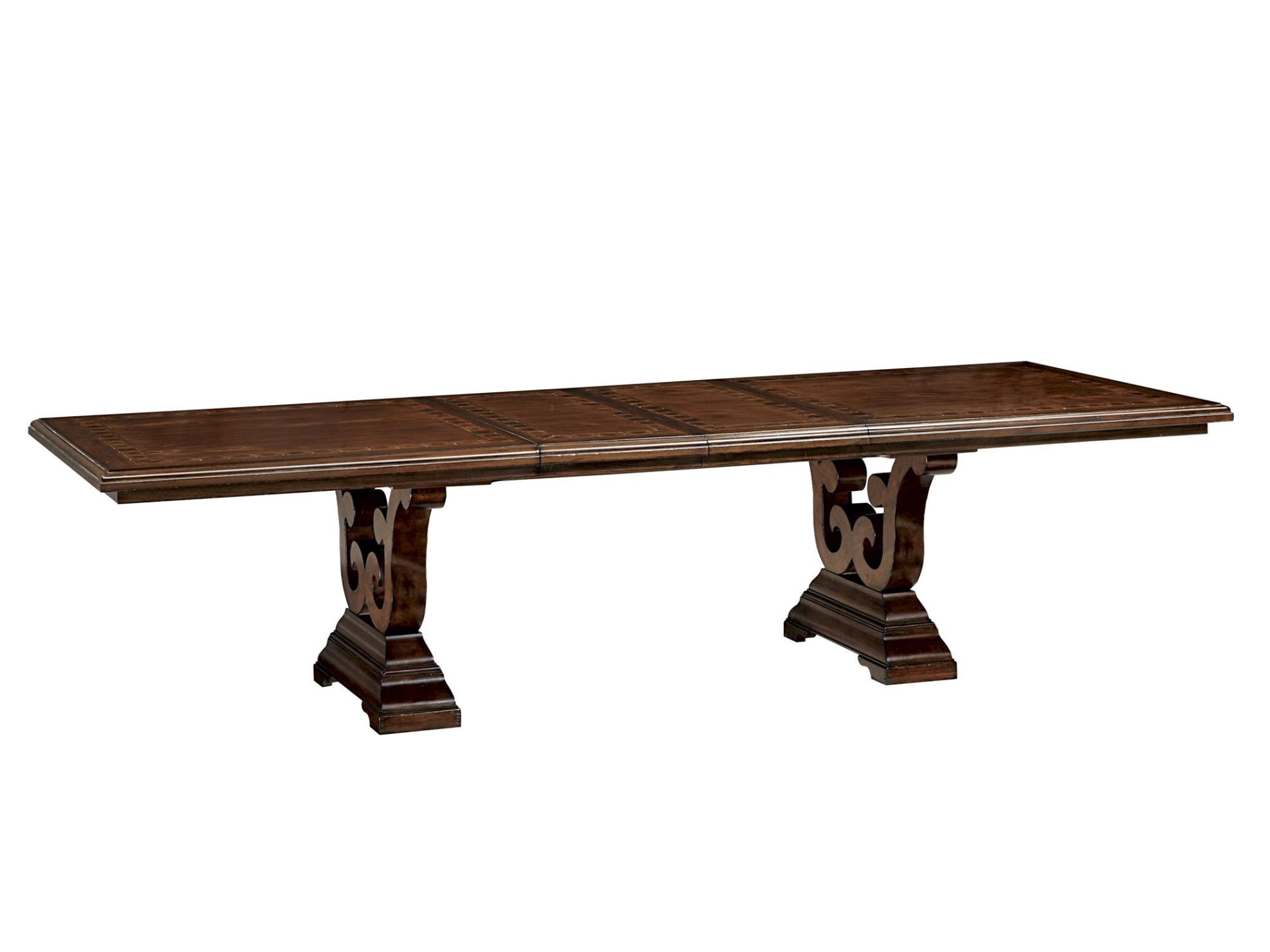 Fine Furniture Design Harbor Springs Trestle Dining Table Top And Base