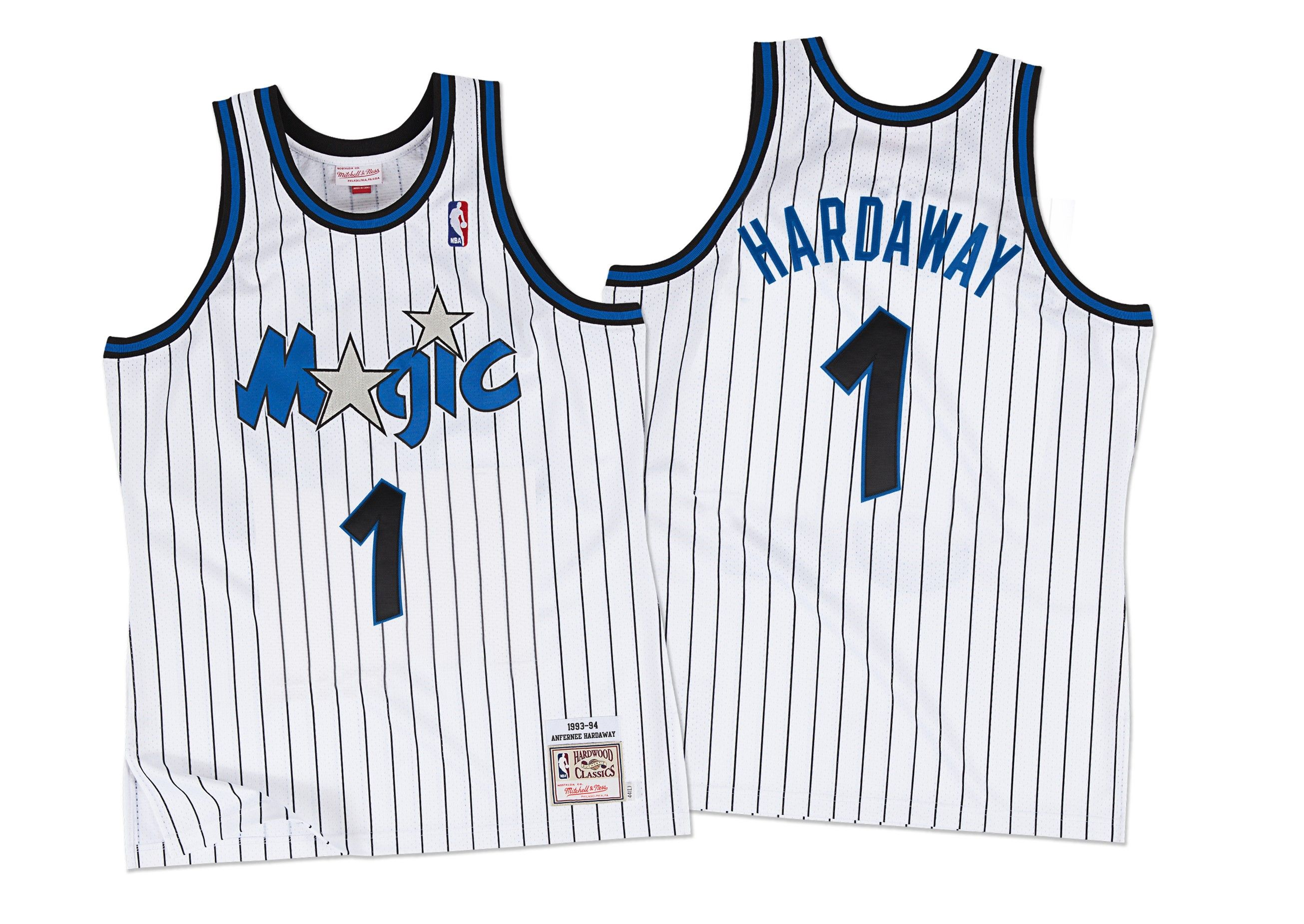 finest selection 46ef7 b62a4 Penny Hardaway 1993-94 Authentic Jersey Orlando Magic ...