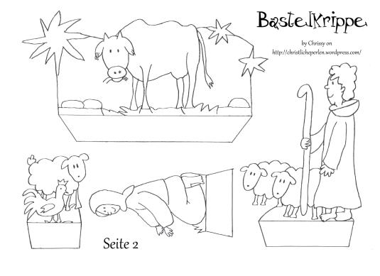bastelkrippe zum ausdrucken gift ideas for compassion. Black Bedroom Furniture Sets. Home Design Ideas