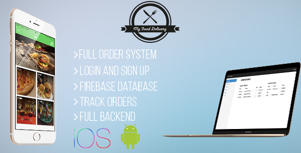 Free Download My Food Delivery Full Restaurant Orders With Backend