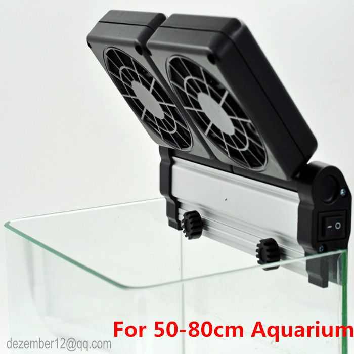 Click To Buy High Quality Aquarium Cooling Fan Coldwind 2 Fans