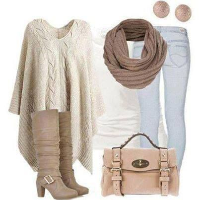 jeans and beige color#style#fashion