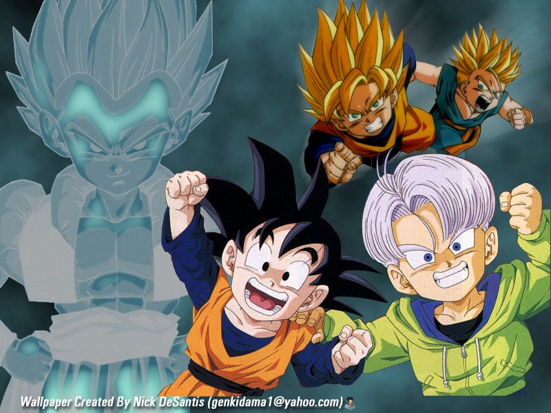 Trunks and Goten.