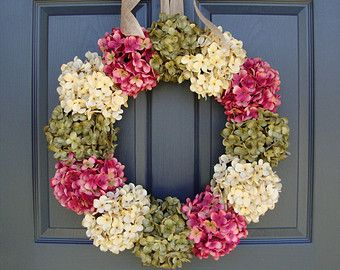 front summer wreaths pin door by fleursdelavie